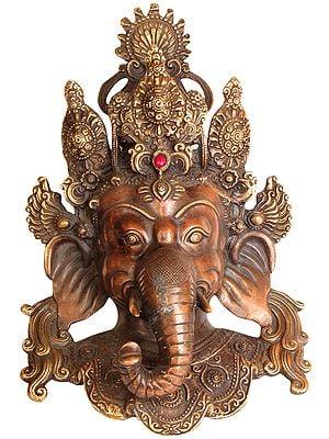 Lord Ganesha Wall Hanging Mask