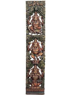 Three Images of Lord Ganesha