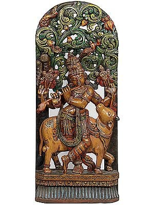 Venugopala: Enrapt Cow and Her Master