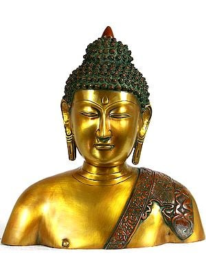 Buddha's Statue in Bust Form