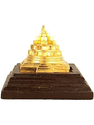 An Accurate Super Bronze Shri Yantra Made in Kerala