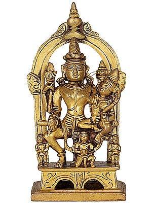 Lakshmi Vishnu on Garuda