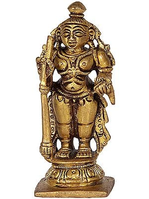 A Hindu Tantric Deity (Small Sculpture)