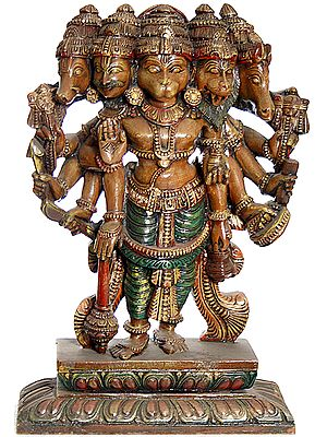 Five Headed Lord Hanuman