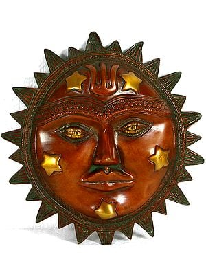 Lord Surya Wall Hanging Mask