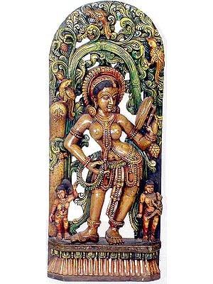 Sensuous Image of an Apsara