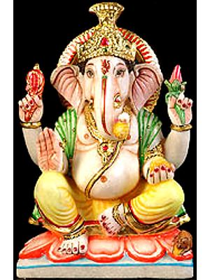 Shri Ganesha Blesses His Devotees