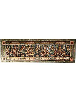 Shri Krishna Panel with Bhagavan Narayana