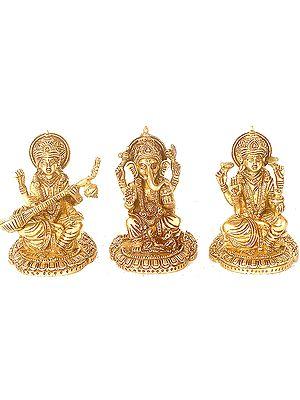 The Great Triad of Ganesha, Lakshmi and Saraswati