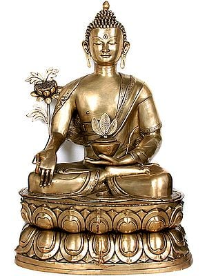 (Tibetan Buddhist Deity) Large Size Finest Physician The World Has Ever Seen