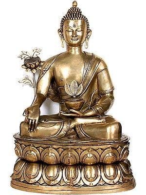 (Tibetan Buddhist Deity) Large Size Finest Physician The World Has Ever Seen