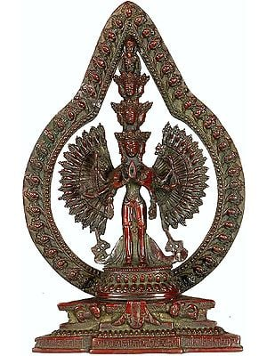 Thousand-Arms of Compassion (Tibetan Buddhist Deity)