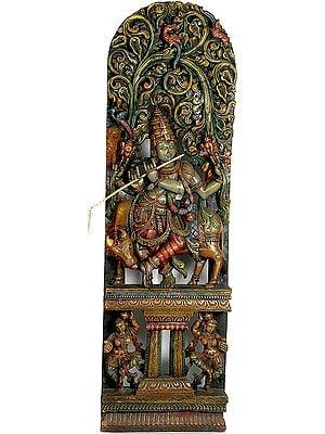 Venugopala as Vishnu Under Kadamba Tree