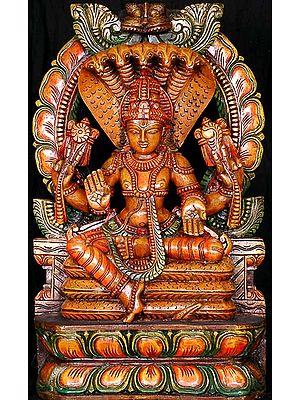 Vishnu on Sheshnaag