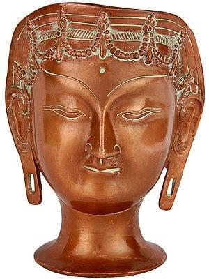 Goddess Tara Head (Tibetan Buddhist Deity)