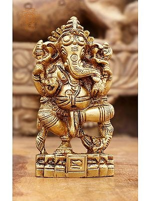 Dancing Ganesha (Small Sculpture)