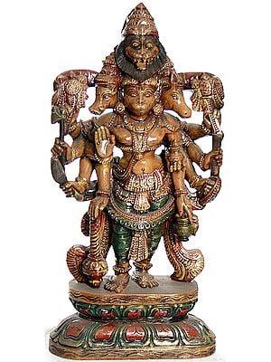 Pancha-Mukhi Hanuman (The Eleventh Rudra)