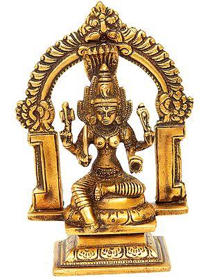 Small Sculpture of Goddess Mariamman