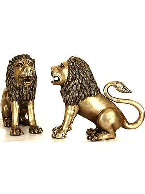 Pair of Lions, The Theme of Tales and Legends