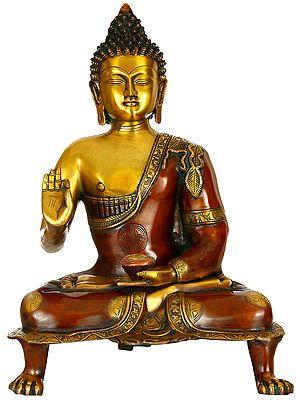 Buddha in Vitark Mudra