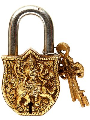Goddess Durga Lock