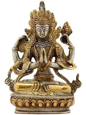 Tibetan Buddhist Deity- Chenrezig (Shadakshari Lokeshvara)