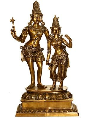 Large Size Lord Shiva with Parvati