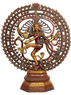 Large Size Nataraja in OM (AUM)