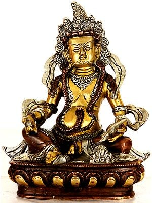Tibetan Buddhist Kubera - God of Wealth