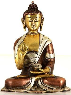 Lord Buddha in 'Abhaya' Granting Posture