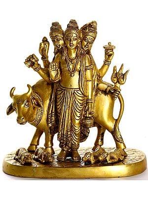 The Holy Saint Dattatreya