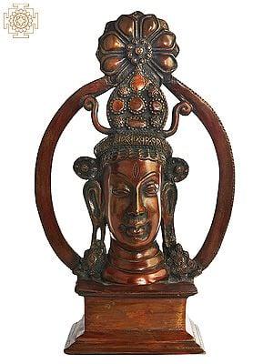 Tribal Shiva Head
