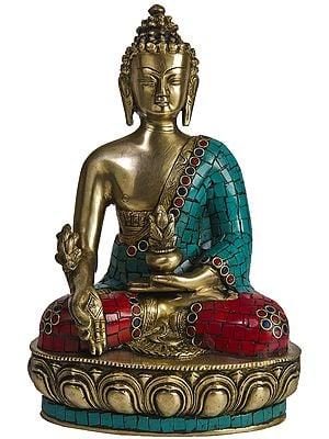(Tibetan Buddhist Deity) Bhaishajyaguru - The Medicine Buddha
