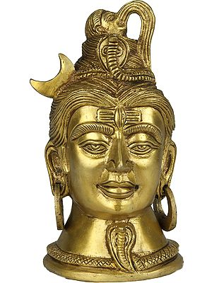 Gangadhara Shiva Head
