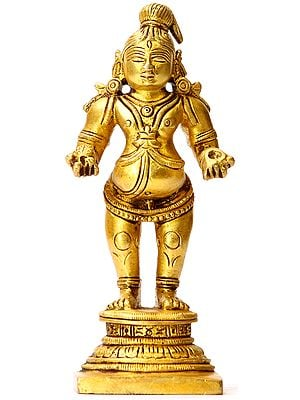 Laddoo Gopala (Small Sculpture)