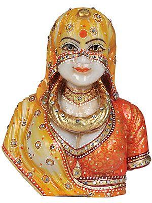 Traditional Hindu Bride Bust