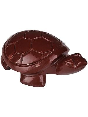 Feng Shui Tortoise (Carved in Jasper)