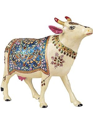 Decorated Cow of Lord Krishna