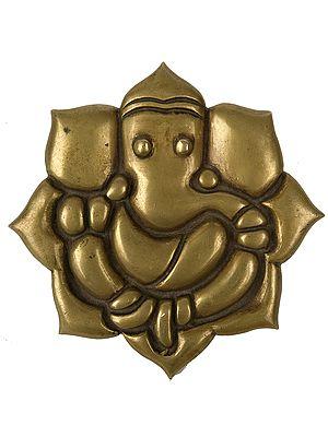 Lord Ganesha (Wall Hanging Plate)