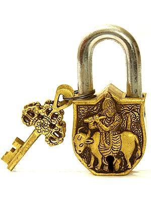 Lord Krishna Temple Lock Keys