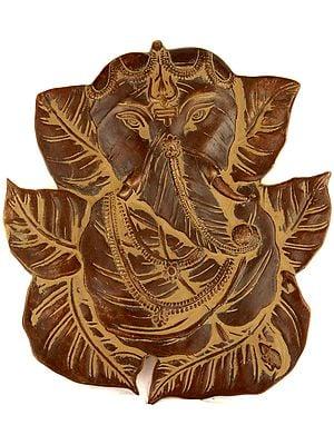 Pipal Leaves Ganesha (Wall Hanging)