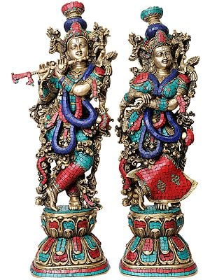 Radha Krishna (Superfine Workmanship)