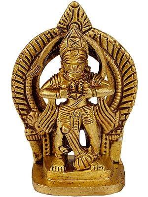Ram Bhakta Hanuman (Small Statue)