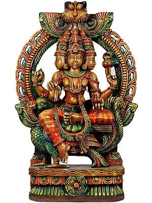 Large Size Lord Brahma's Precise Iconography