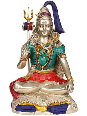 Lord Shiva (with Inlay Work)