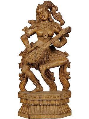 The Musician Apsara (अप्सरा)
