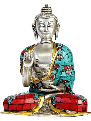 Lord Buddha in Abhaya Mudra