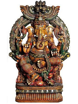 Large Size Rinamochana Ganesha