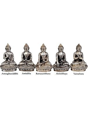 Set of Five Dhyani Buddhas