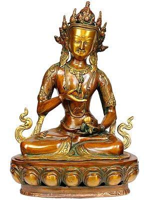 Tibetan Buddhist Deity The Primordial Buddha Vajrasattva